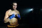 The title fight venue has been confirmed - and it's going to be held in Parker's home town of Auckland. Photo / Photosport