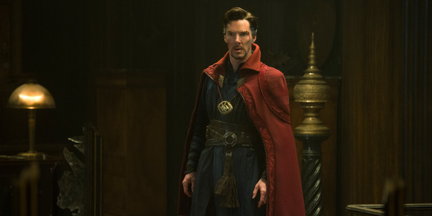 Benedict Cumberbatch as Doctor Stephen Strange. Photo / Jay Maidment