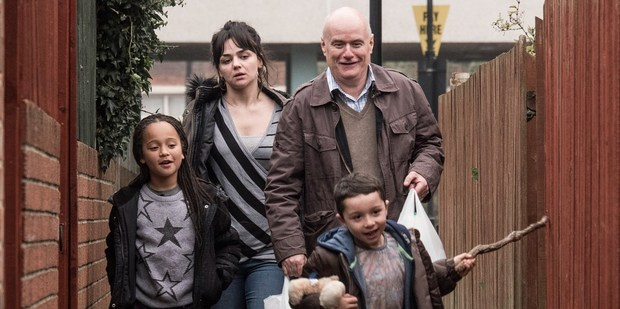 Scene from the film I, Daniel Blake - which represents inequality.
