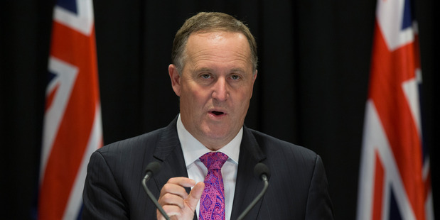 """Loading John Key does not believe the US 'footprint"""" in the Asia Pacific would lessen, even if Trump was elected. Photo/ Mark Mitchell"""