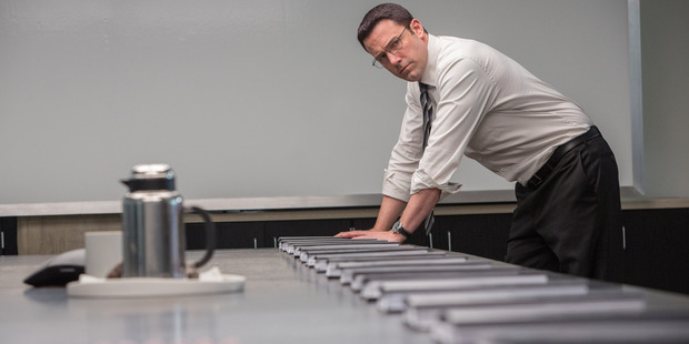 Ben Affleck stars in the film, The Accountant.