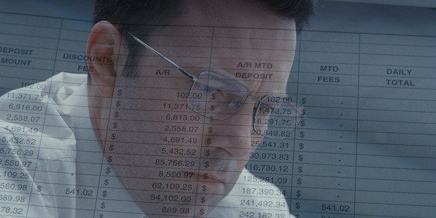 Ben Affleck stars in the film. The Accountant.