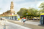 The light rail project, meant to run from Wynyard Quarter to Mt Roskill, is a component of the strategic plan. Photo / Labour