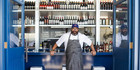 Anason Restaurant, Sydney. Head chef and cookbook author Somer Sivrioglu.