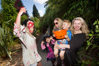 There were lots of frights and fun to be had at Rainbow Springs as these locals discovered. (From left) Grace Weir, 6, Chelsea Weir, Leo Austin, 3, and Jenna Austin. PHOTO/BEN FRASER