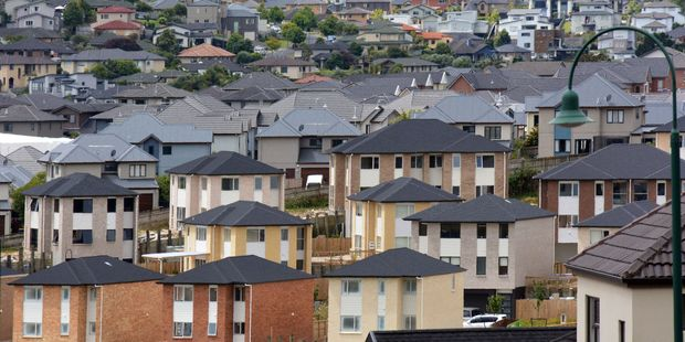 Up to 13,000 new houses are needed a year in Auckland to keep up with population growth.