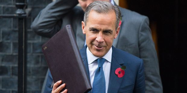 Bank of England governor Mark Carney was considered the rock star of finance, the most powerful man in the British economy. Photo / AP