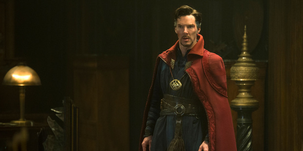 Actor Benedict Cumberbatch in a scene from Marvel's Doctor Strange. Photo / Marvel