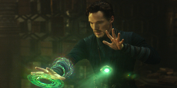 Loading Actor Benedict Cumberbatch in a scene from Marvel's Doctor Strange. Photo / Marvel