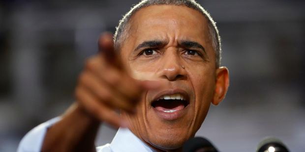 Loading President Barack Obama. Photo / AP
