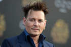 Actor Johnny Depp is rumoured to be starring in a sequel for Fantastic Beasts and Where to Find Them. Photo / AP