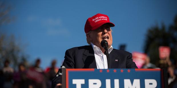 Loading Republican presidential candidate Donald Trump. Photo / AP