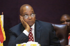 South African President Jacob Zuma is facing growing dissatisfaction. Photo / AP