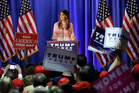 Melania Trump, wife of Republican presidential candidate Donald Trump. Photo / AP