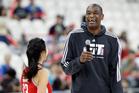 Former NBA basketball star Dikembe Mutombo. Photo / Getty