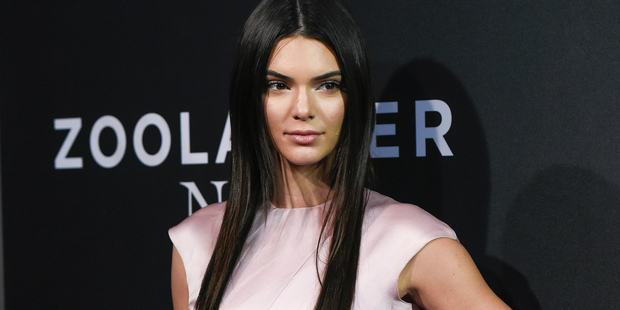 Kendall Jenner has an avid social media following. Photo / AP