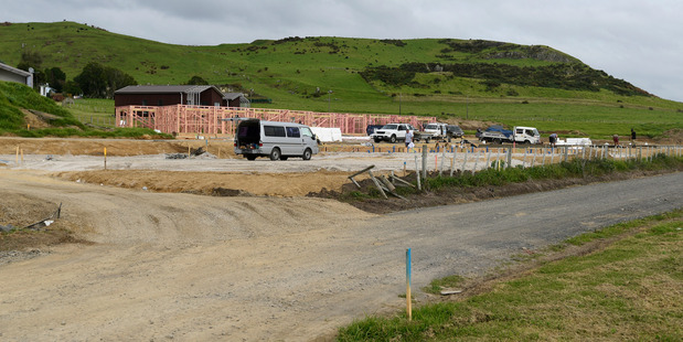 Development under way on Mangatawa Lane. Photo/File