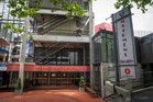 Auckland University's Maidment Theatre, on Alfred St, has been closed for good. Photo / Greg Bowker