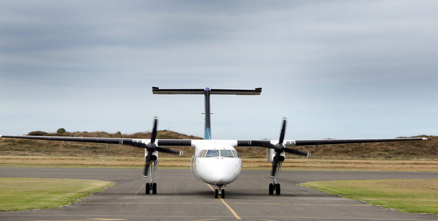 The incident happened on a Bombardier Q300. Photo / File