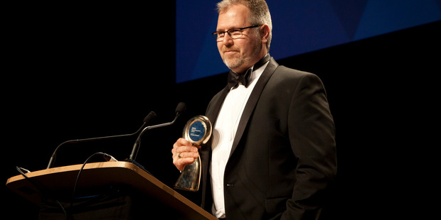 Richard Thurlow from Waipuna Hospice. The Tauranga Business Awards. PHOTO/Andrew Warner.