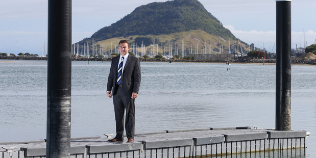 Harcourts Tauranga managing director Simon Martin said the LVRs said sales at the top end of the market were pushing the median price up. PHOTO/FILE
