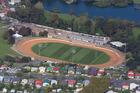 The Vodafone Springs Speedway track. Photo / Brett Phibbs