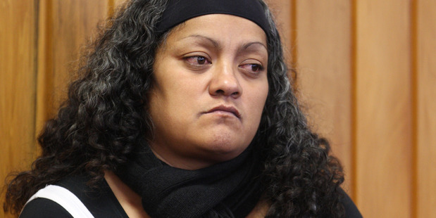 Lisa Kuka, mother of abused toddler Nia Glassie.  Daily Post photograph by Stephen Parker