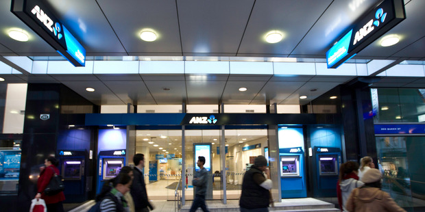 ANZ today reported an 18 per cent decline in cash profit to A$5.889 billion. Photo / Richard Robinson