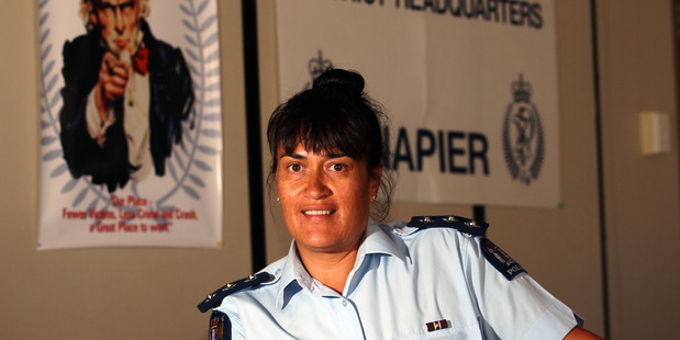 Hawkes Bay Police area commander Tania Kura completed diversion by attending a defensive driving course. Photo/ Paul Taylor.