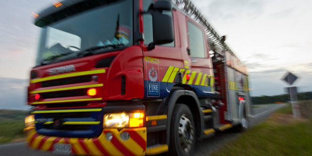 Fire Service crews are attending a house fire on the Kapiti Coast.