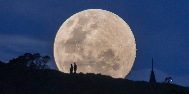 This month promises another super-moon. Photo/SNPA/Simon Runting