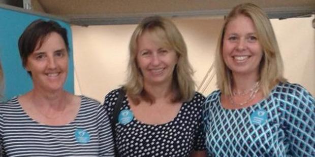 The Children's Autism team. From the left; Arletta van den Bosch, Teresa Moore and Elisa Slaat.