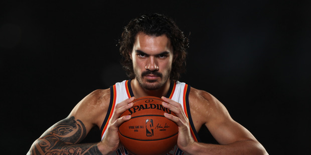 Loading Steven Adams #12 of the Oklahoma City Thunder. Photo / Getty Images.