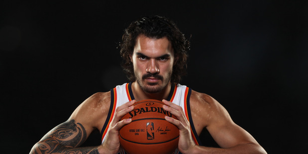 Loading Steven Adams has come into a large sum on money after signing his latest Oklahoma City Thunder contract. Photo/File