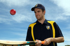 NEW FRONTIERS: Auckland allrounder Brad Schmulian is carving a niche in Hawke's Bay club cricket with Havelock North. PHOTO/PAUL TAYLOR