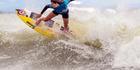 View: Surfing at Te Awanga