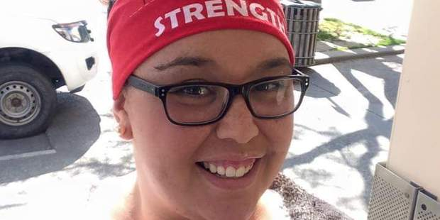 Support: Harmony Te Meihan is supporting the Mitre 10 Mega Walk this weekend, because CanTeen provided support along her journey. Photo/Supplied