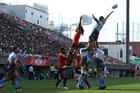 The Sunwolves take on the Western Force at Prince Chichibu Stadium. Photo / Photosport