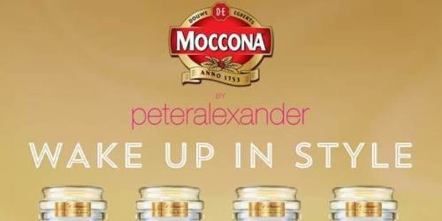 Peter Alexander teams up with Moccona