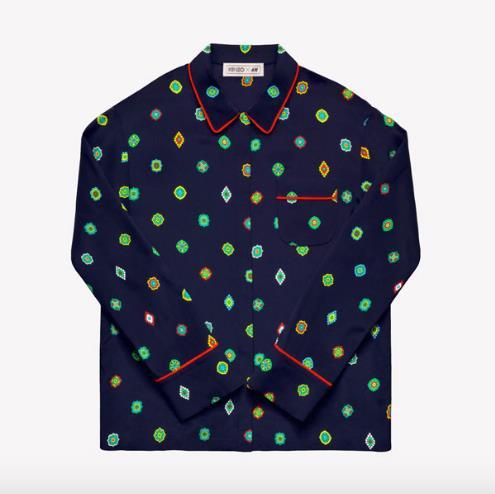 Kenzo X H&M pajama shirt. Photo / Supplied