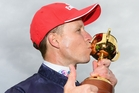 Kerrin McEvoy and the Melbourne Cup. Photo / Getty Images