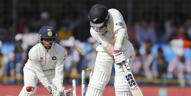 The Black Caps were swept in three tests against India. Photo / AP