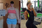 Grace Marriott lost 34kg after she overcame an eating disorder and became hooked on bodybuilding. Photos / Caters