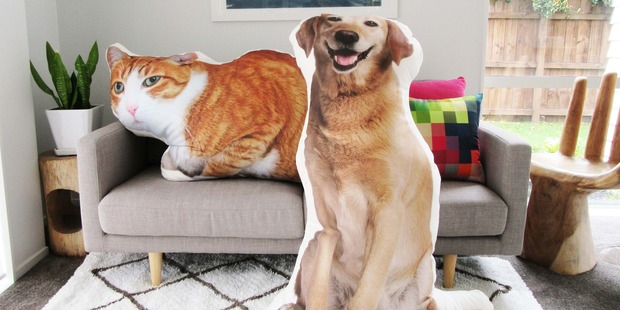 Larger-than-life pillows. Photo / supplied