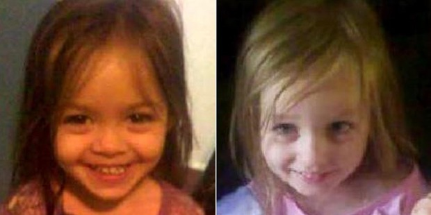Patricia Young, 3, and Tara Young, 4, drowned in the backyard swimming pool. Photo / News Corp Australia