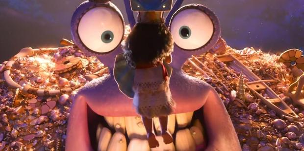 Jermaine plays the greedy crab in Moana.