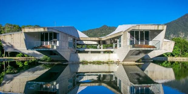 The six-bedroom Charles Wright-designed Australian masterpiece has been on the market for three years. Photo / Supplied