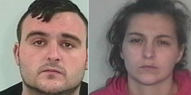Daniel Sheard, 24, was handed a six-year prison sentence and Lucy Damen, 22, was given four-and-a-half years. Photo / West Yorkshire Police