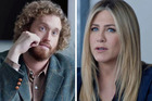TJ Miller and Jennifer Aniston star in the film, Office Christmas Party.