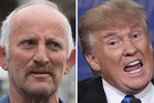 Gareth Morgan sees himself as a figure outside of the political establishment, like Donald Trump. Photos / Mark Mitchell,AP